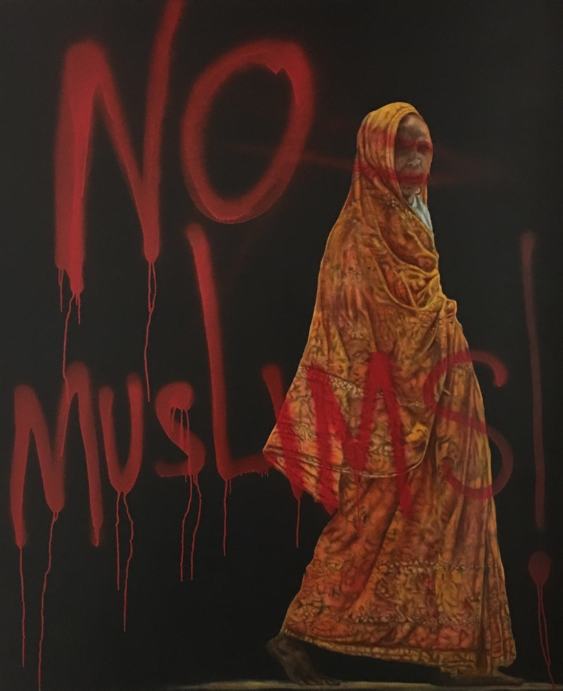 No Muslims, by Cesar Conde - riksha