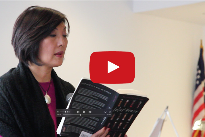 """M. Evelina Galang reads from her book: """"Lolas' House: Filipino Women Living with War"""